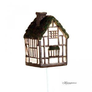 Hus / Old Cottage. 7,5 cm