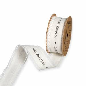 Band med text, Just Married (ca.5 meter)