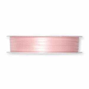 Satinband, rosa. 3 mm. (10 meter)