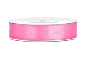 Satinband, Rosa, 12 mm ( 25 meter )