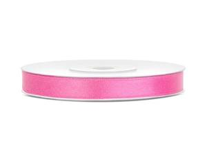 Satinband, Rosa, 6 mm ( 25 meter )
