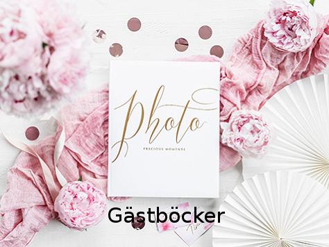 Gästböcker till bröllopet